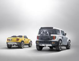 land rover defender concept land rover defender dc 100 sports super cars