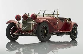 vintage alfa romeo 6c alfa romeo 6c gran sport 1930 1 18 by cmc models racing heroes