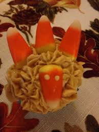 thanksgiving mini cupcakes mini turkey cupcakes mommy day by day