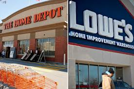 does lowes sell their kitchen displays home depot and lowe s earnings boosted by pandemic induced