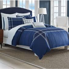 Blue And White Comforters Bedroom Charming Navy Blue Comforter For Bedroom Furniture Ideas