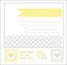 printable templates baby shower shower invitation cards 35 sets of printable templates to download