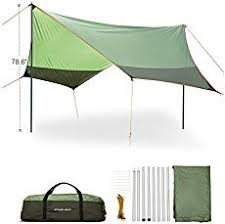 Beach Awnings Canopies Naturehike Hexagonal Sun Shelter With Poles Waterproof Awning