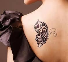 26 best butterfly back shoulder tattoos for images on