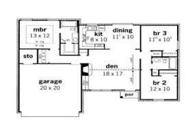 3 bedroom floor plans with garage 21 simple small house floor plans garage small modern house plans