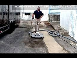 best vacuum recovery surface cleaner wastewater recovery