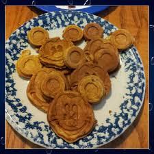 Cinnamon And Apple Mickey Waffles Made With My Mickey Waffle Maker