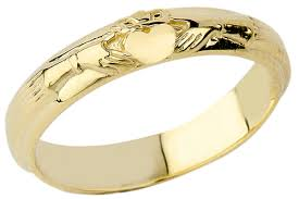 Claddagh Wedding Ring by Wedding Bands