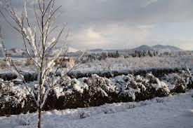 Snow In Sahara Morocco And Western Sahara