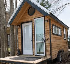 it looked like a normal tiny house on wheels then i saw what was