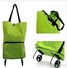 reusable oxford foldable bag fashion canvas folding shopping bag