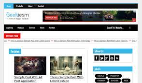 top 7 seo friendly blogger templates list of best