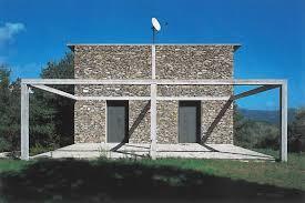 House 1985 by Herzog U0026 De Meuron Casa De Piedra Stone House Tavole Italy