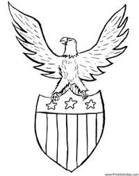 united states symbols coloring pages united states symbols coloring pages american eagle coloring