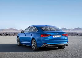 audi a5 2016 redesign official 2017 audi a5 and s5 sportback gtspirit