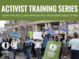 activist training series sierra club