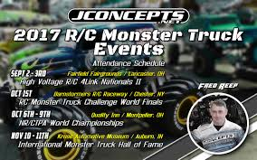 2017 jconcepts monster truck event attendance schecdule