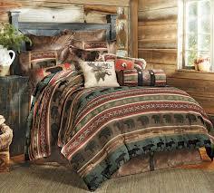 Rustic Comforter Sets Rustic Bedding Sets Lodge U0026 Log Cabin Bedding