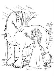 Printable Brave Coloring Pages Coloring Me Disney Brave Coloring Pages