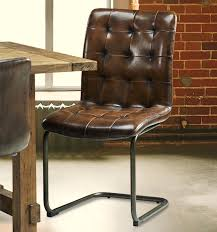 Leather And Metal Rustic Dining Chairs Most Effective Metal And Leather Dining Chairs Elegant Portraits