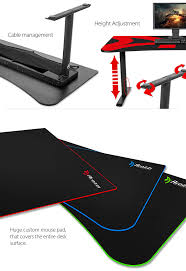 Xbox Gaming Desk by New Arozzi Arena Gaming Desk Available Play3r