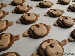 monkey cupcake topper tutorial cake u0026cookie decorating tips