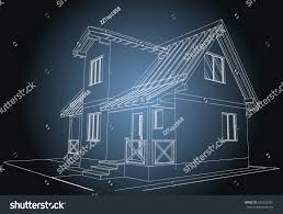 blueprint of houses blueprint architectural design halftimbered residential house