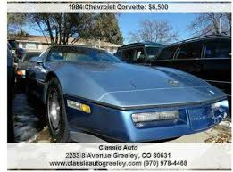 84 corvette value 1984 chevrolet corvette for sale carsforsale com