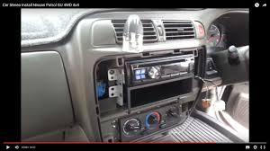 car stereo install nissan patrol gu 4wd 4x4 автомобильная