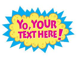 yo gabba gabba inspired printable text sign etsy