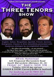 the three tenors tribute show