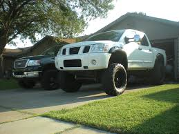 nissan titan wheel spacers looking for lifted white titans page 3 nissan titan forum