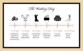 wedding invitations timeline wedding timeline wedding toasts