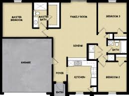 floor plan of cape 3 br 2 ba 1 floor plan house design for sale fort myers