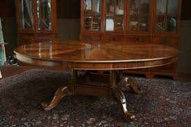 dining room wonderful round expandable dining table with mahogany