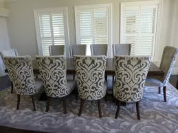 upholstered dining table and chairs u2014 all home design solutions