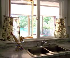 kitchen window curtains deanna design image