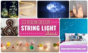 Awesome DIY String Light Ideas DIY Projects For Teens - Craft ideas for bedroom