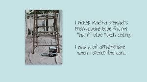 musings haint blue