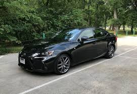 lexus night 2017 lexus is 350 f sport test drive