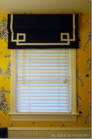 Blinds Outside Of Window Frame Roman Shades Weren U0027t Built In A Day Tricks Of The Trade