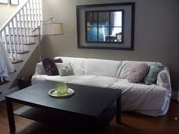 Leather Sofa Seat Cushion Covers by 25 Best No Sew Slipcover Ideas On Pinterest Couch Covers