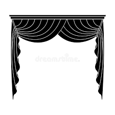 Cornice Curtains Curtains With Drapery On The Cornice Curtains Single Icon In Blake