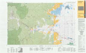 Topographic Map Of Colorado by Co Surface Management Status Del Norte Map Bureau Of Land Management