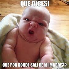 Meme Bebe - memes de bebes im磧genes graciosas y divertidas