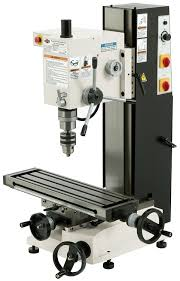 Bench Top Mill Shop Fox M1110 6 Inch By 21 Inch Variable Speed Mill And Drill