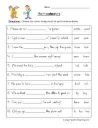 homophone worksheet their there they u0027re have fun teaching