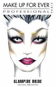 Halloween Wedding Makeup 204 Best Make Up Face Charts Images On Pinterest Face Charts