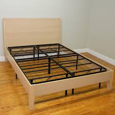 How To Make A Queen Size Bed Frame Hercules Queen Size 14 In H Heavy Duty Metal Platform Bed Frame
