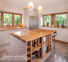 kitchen island oak how to create a kitchen island with solid oak kitchen cabinets